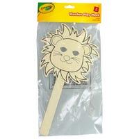 Crayola Wooden Lion Mask