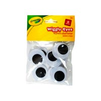 Crayola Wiggly Eyes 8 Pack
