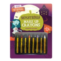 Monstrous Make Up Crayons 8 Pack