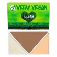 W7 Very Vegan Cream Contour Kit Fair Light