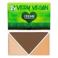 W7 Very Vegan Cream Contour Kit Medium Tan