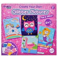 Kreative Kids Create Your Own Glitter Pictures Kit