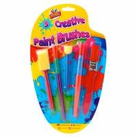 Kids Creative Brush Set 5 Pack