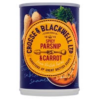 Crosse and Blackwell Spicy Parsnip and Carrot Soup 400g
