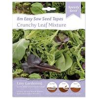 Speedy Seed Salad Tape Crunchy Leaf Mix
