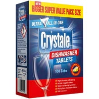 Crystale Dishwasher Tablets 100 Pack