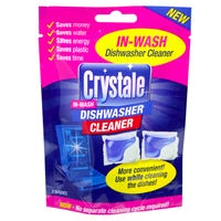 Crystale in Wash Dishwasher Cleaner Capsules 2 Pack