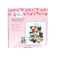 Heart and Star Cupcake Stand