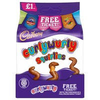 Cadbury's Bag Curly Wurly Squirlies 95g