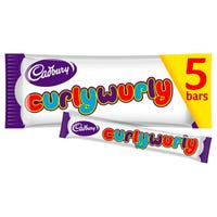 Cadbury Curly Wurly Bars 5 Pack