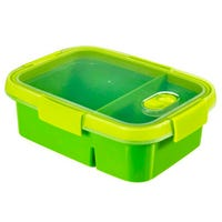 Curver Smart To Go Dual Food Container 0.6L