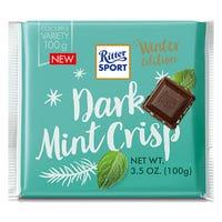 Ritter Sport Dark Mint Crisp Winter Edition 100g