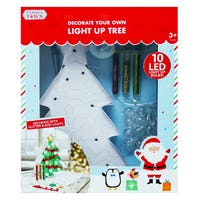 Tinseltown Decorate Your Own Light Up Christmas Tree