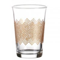 Decorated Drinking Glasses 3 Pack