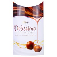 Delissimo Hazelnut and Milk Chocolate 105g