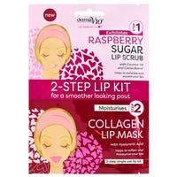 Derma V10 2-Step Lip Kit Raspberry