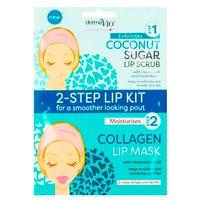 Derma V10 2-Step Lip Kit Coconut