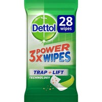 Dettol 3x Power Multisurface Wipes 28 Pack