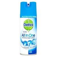 Dettol All in One Disinfectant Spray Crisp Linen 400ml
