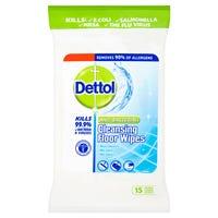 Dettol Anti-Bacterial Cleansing Floor Wipes 15 Pack