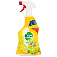 Dettol Power and Fresh Advanced Multi Purpose Spray 1L