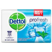 Dettol Pro-Fresh Anti-Bacterial Cool Soap 4 Pack