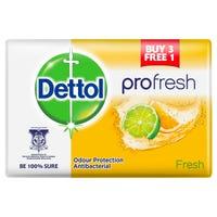 Dettol Pro-Fresh Anti-Bacterial Fresh Soap 4 Pack