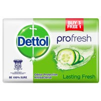 Dettol Pro-Fresh Anti-Bacterial Lasting Fresh Soap 4 Pack