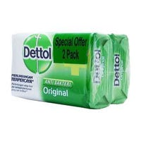 Dettol Anti-Bacterial Soap Twin Pack