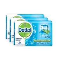 Dettol Cool Anti-Bacterial Soap 3 Pack