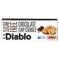 Diablo Sugar Free Chocolate Chip Cookies 130g