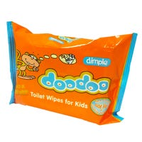 Dimple DooDoo Kids Toilet Wipes 60 Pack
