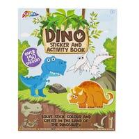 Grafix's Dinosaur Activity and Sticker Book