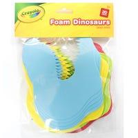 Crayola Foam Dinosaurs 20 Pieces