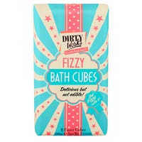 Dirty Works Fizzy Bath Cubes Bar 200g