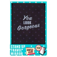 Dirty Works Stand up Travel Mirror