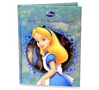 Disney Classics Alice In Wonderland Illustrated Book