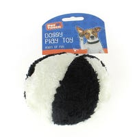 Plush Dog Toy with Squeak