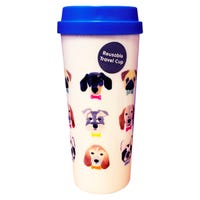Polar Gear Hot Drink Travel Cup in Dogs Design 550ml