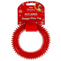 Christmas Dental Ring Dog Toy Assorted