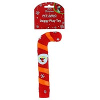 Christmas Squeaky Candy Cane Dog Toy Assorted