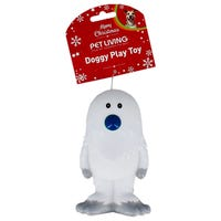 Christmas Squeaky Yeti Dog Toy Assorted