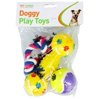 Doggy Play Toy Set 3 Pack