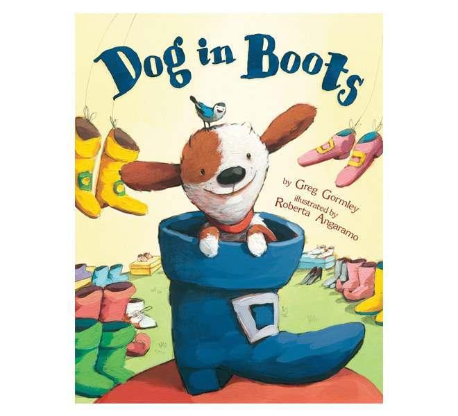 Dog In Boots Hardback Book