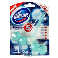 Domestos Power 5 Rim Chlorine 55g