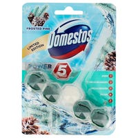 Domestos Power 5 Frosted Pine Toilet Block 55g