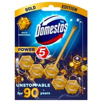 Domestos Rimblock Power 5 Gold 55g