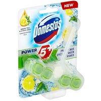 Domestos Power 5 Toilet Rim Block Green Tea 55g