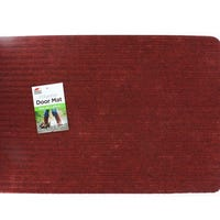 Polyester Doormat Red 60x40cm