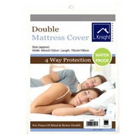 Double Mattress Waterproof Cover 152 x 190cm